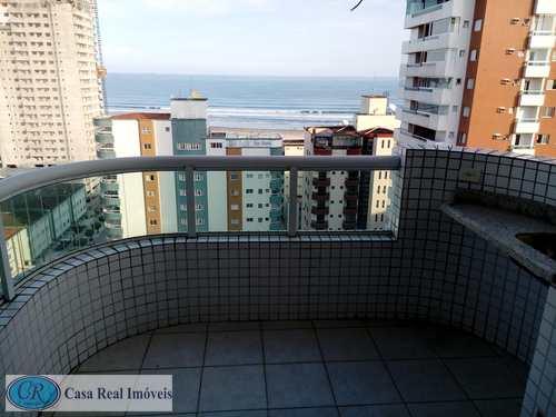 Apartamento, código 134 em Praia Grande, bairro Guilhermina