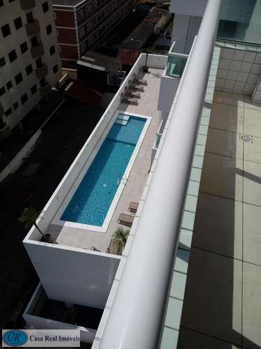 Apartamento, código 153 em Praia Grande, bairro Aviação