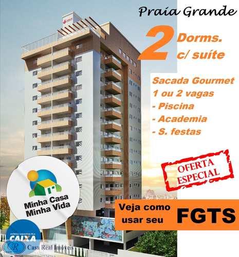 Apartamento, código 280 em Praia Grande, bairro Canto do Forte