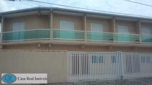Casa de Condomínio, código 408 em Praia Grande, bairro Antártica