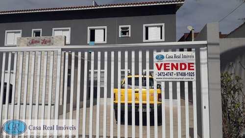 Casa de Condomínio, código 466 em Praia Grande, bairro Tupi