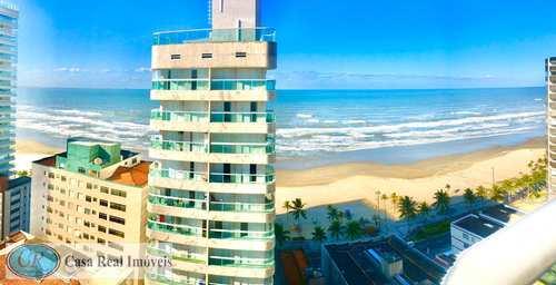 Apartamento, código 491 em Praia Grande, bairro Aviação