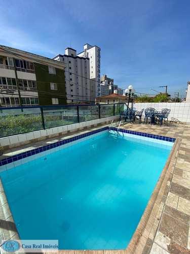 Apartamento, código 498 em Praia Grande, bairro Ocian