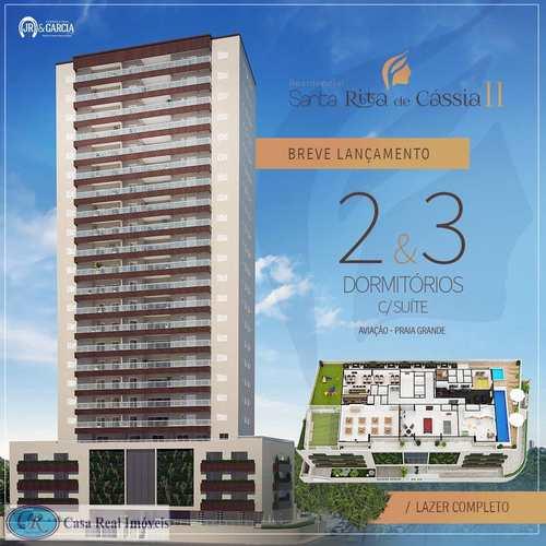 Apartamento, código 643 em Praia Grande, bairro Aviação