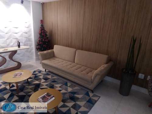 Apartamento, código 646 em Praia Grande, bairro Guilhermina