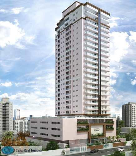 Apartamento, código 656 em Praia Grande, bairro Guilhermina