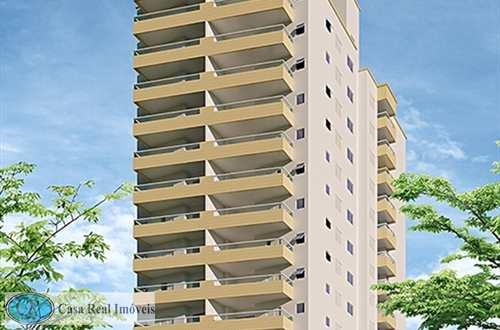 Apartamento, código 674 em Praia Grande, bairro Aviação