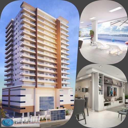 Apartamento, código 684 em Praia Grande, bairro Aviação