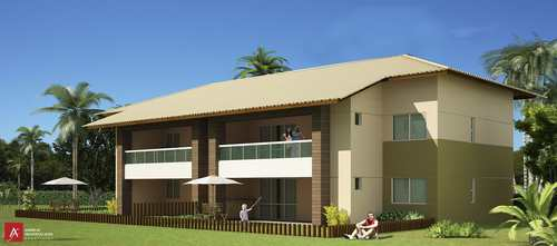 Apartamento, código 26 em Esplanada, bairro Baixio