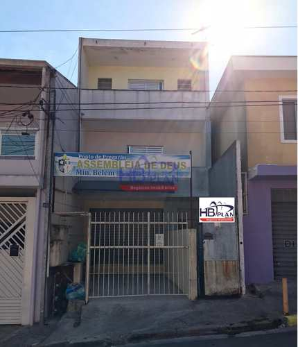 Casa, código 019 em Barueri, bairro Vila Engenho Novo