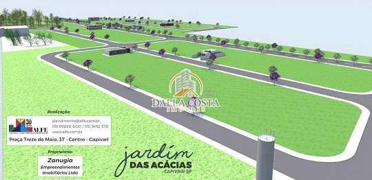 Terreno Comercial em Capivari, no bairro Centro