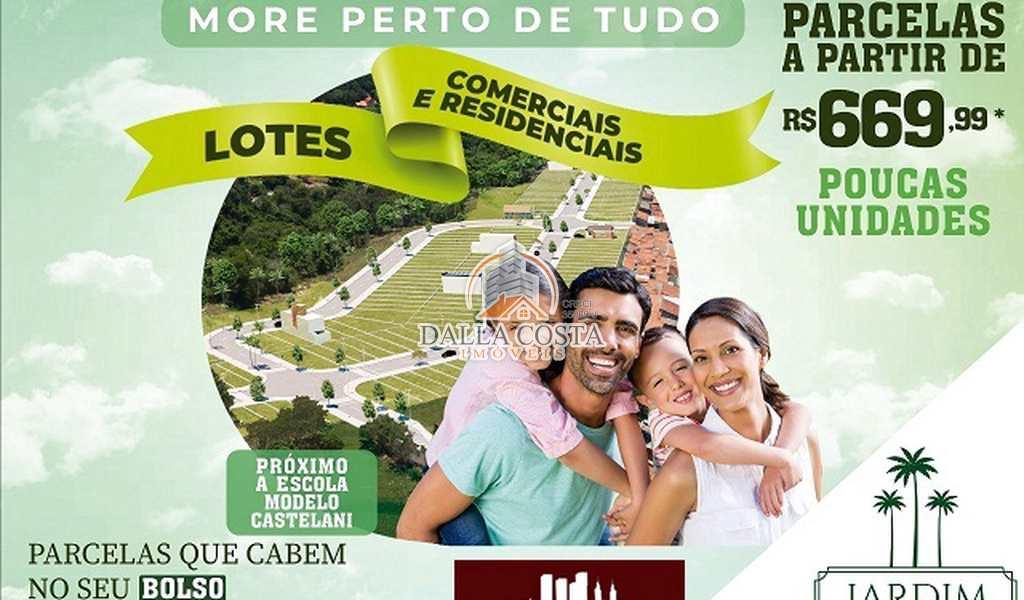 Terreno em Capivari, bairro Jardim das Palmeiras