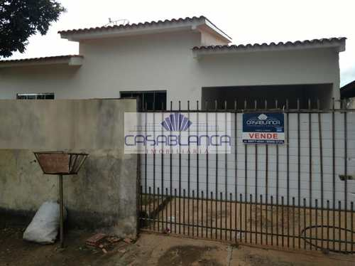 Casa, código 410 em Primavera do Leste, bairro Tuiuiu