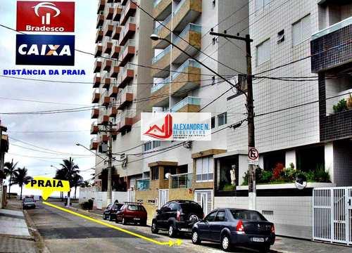 Apartamento, código AP00432 em Praia Grande, bairro Ocian