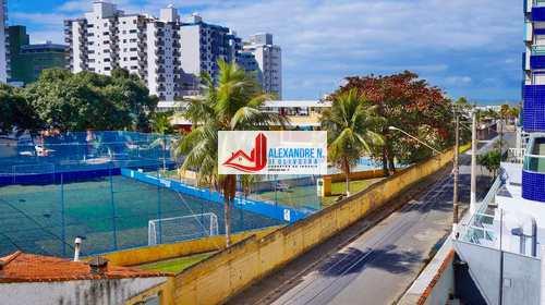 Apartamento, código AP00080 em Praia Grande, bairro Ocian