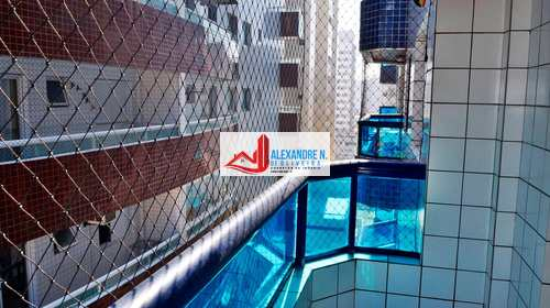 Apartamento, código AP00380 em Praia Grande, bairro Ocian