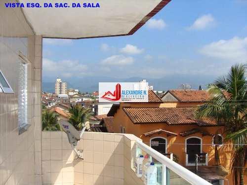 Apartamento, código AP00057 em Praia Grande, bairro Mirim