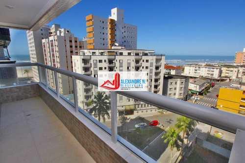 Apartamento, código AP00439 em Praia Grande, bairro Ocian