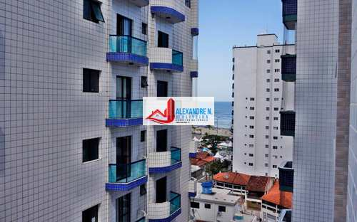 Apartamento, código AP00433 em Praia Grande, bairro Ocian