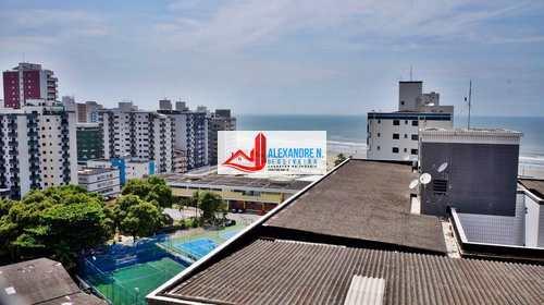 Apartamento, código AP00445 em Praia Grande, bairro Ocian