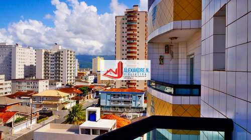Apartamento, código AP00454 em Praia Grande, bairro Ocian