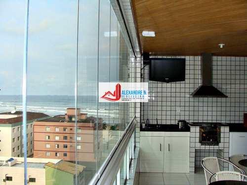Apartamento, código AP00157 em Praia Grande, bairro Ocian