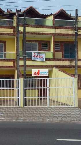 Sobrado, código SB00004 em Praia Grande, bairro Maracanã