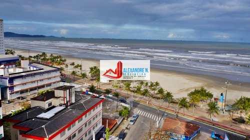 Apartamento, código AP00509 em Praia Grande, bairro Mirim