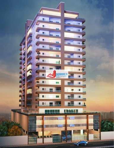 Apartamento, código AP00512 em Praia Grande, bairro Caiçara