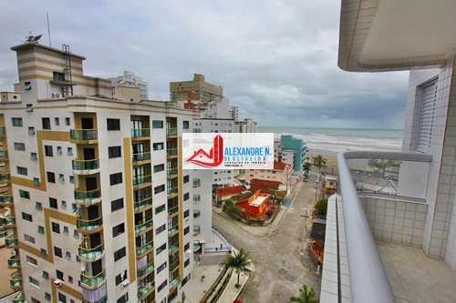 Apartamento, código AP00515 em Praia Grande, bairro Ocian