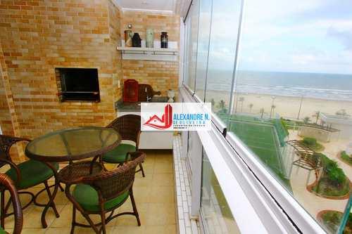 Apartamento, código AP00460 em Praia Grande, bairro Mirim