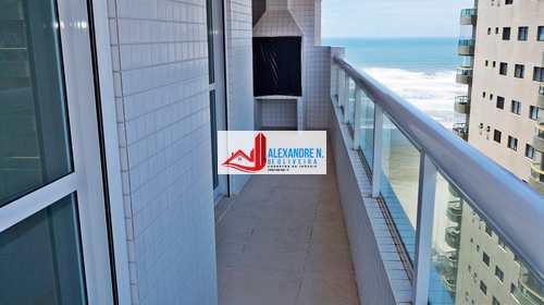 Apartamento, código AP00098 em Praia Grande, bairro Aviação
