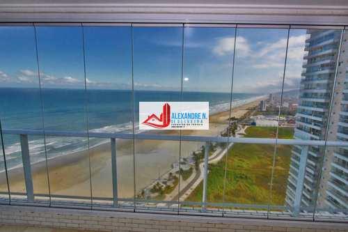 Apartamento, código AP00341 em Praia Grande, bairro Mirim