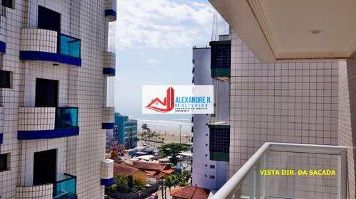 Apartamento, código AP00017 em Praia Grande, bairro Ocian