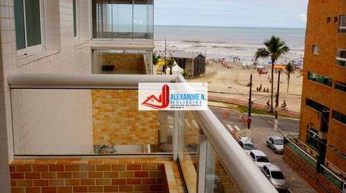 Apartamento, código AP00011 em Praia Grande, bairro Ocian