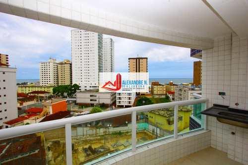 Apartamento, código AP00442 em Praia Grande, bairro Caiçara