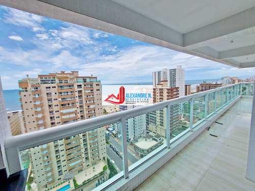 Apartamento, código AP00528 em Praia Grande, bairro Caiçara