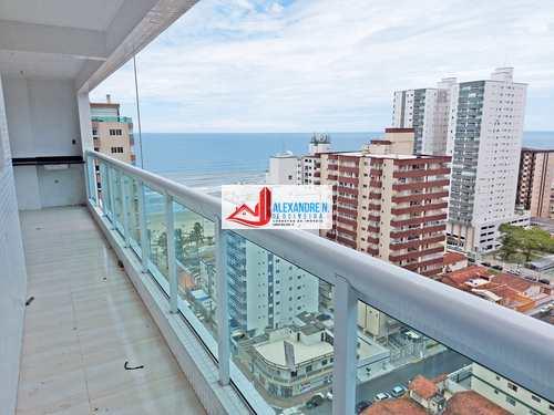 Apartamento, código AP00529 em Praia Grande, bairro Caiçara