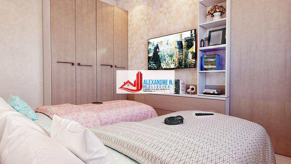 Apartamento em Praia Grande, no bairro Caiçara