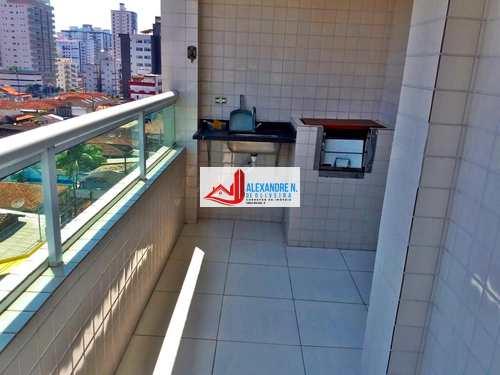 Apartamento, código AP00343 em Praia Grande, bairro Ocian