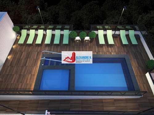 Apartamento, código AP00020 em Praia Grande, bairro Ocian