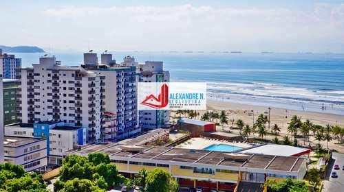 Apartamento, código AP00548 em Praia Grande, bairro Ocian
