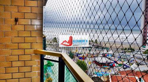 Apartamento, código AP00587 em Praia Grande, bairro Ocian