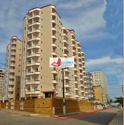 Apartamento, código AP00591 em Praia Grande, bairro Mirim