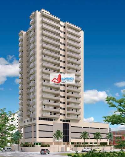 Apartamento, código AP00593 em Praia Grande, bairro Ocian