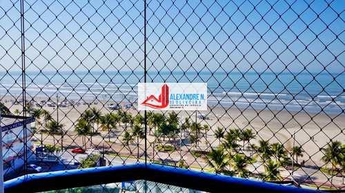 Apartamento, código AP00609 em Praia Grande, bairro Mirim