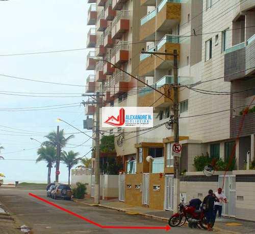 Apartamento, código AP00624 em Praia Grande, bairro Ocian