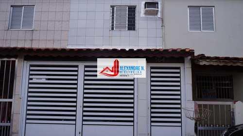 Sobrado, código SB00016 em Praia Grande, bairro Nova Mirim