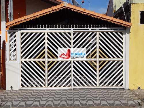 Casa, código CA00012 em Praia Grande, bairro Caiçara
