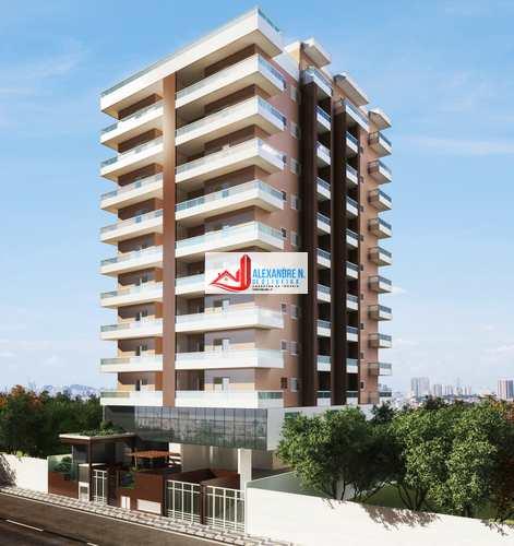 Apartamento, código AP00664 em Praia Grande, bairro Ocian